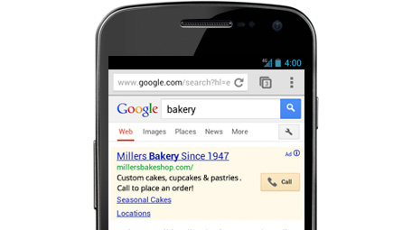 Google adwords mobile click to call nikon реклама яндекс